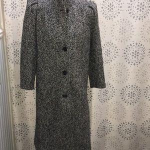 80's style wool coat